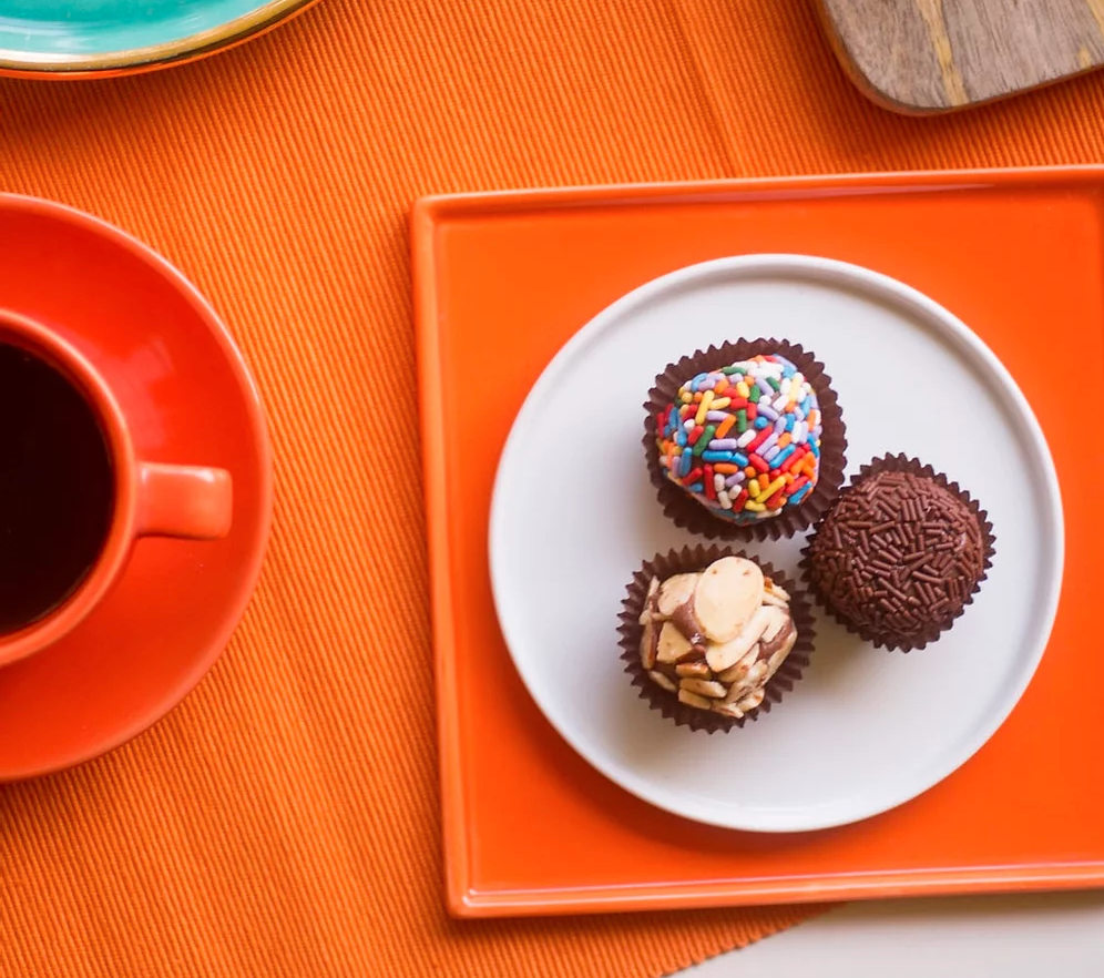 Delicious Brigadeiro from one of our prior club partners, Maya's Brigadeiro Brazilian Sweets!