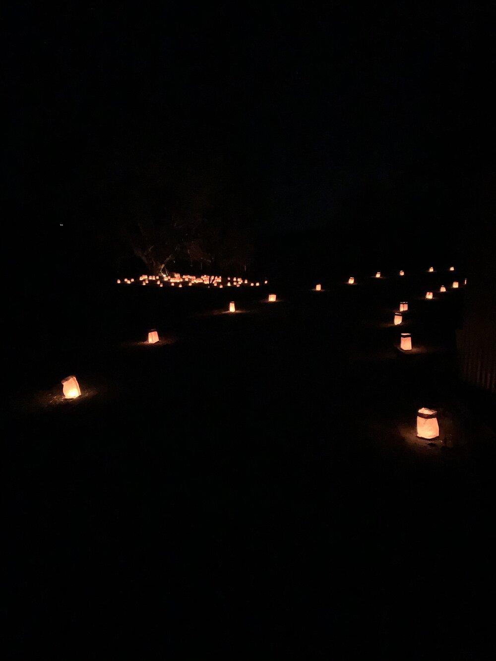 Lanterns leading into 2020...